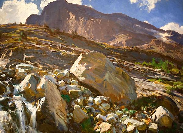 """""""Simplon Pass"""" John Singer Sargent"""