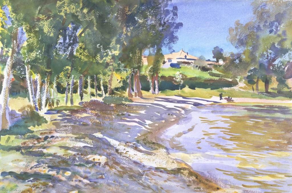 San Vigilio, Lago di Garda circa 1913 by John Singer Sargent 1856-1925