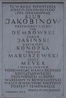 220px-Tablica_upamiętniająca_Jakobinów_polskich_na_Placu_Bankowy_w_Warszawie